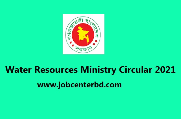 Water Resources Ministry Circular 2021